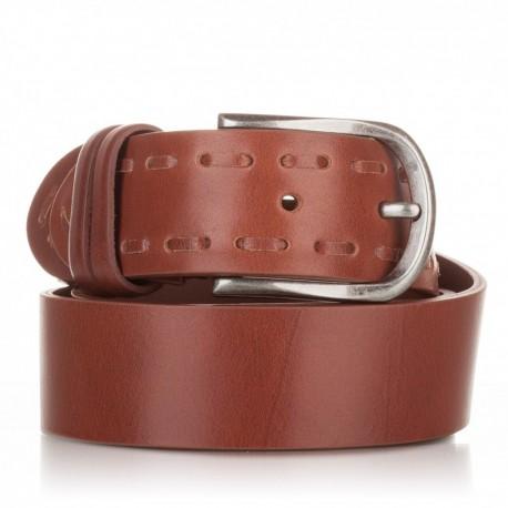 1018-40-KG-CU Cinturón ensamblado y pasado piel cuero