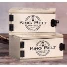 Caja de madera de cinturón