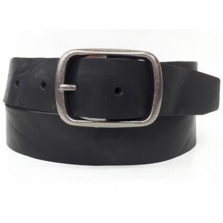 5029-40-KG-NG Cinturón de piel Negro
